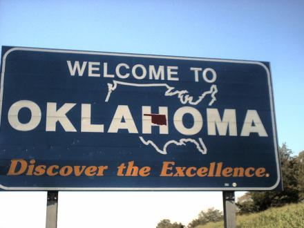 Welcome to Oklahoma 9-7-03